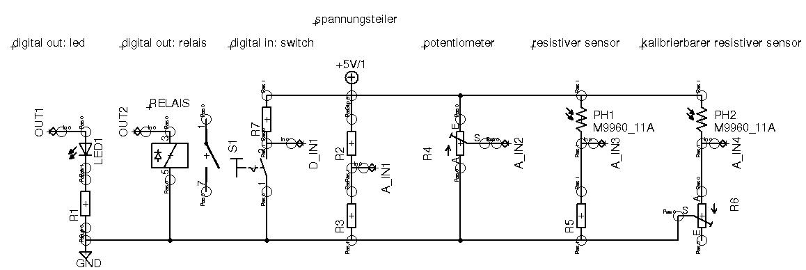 Realisierung elektrischer und elektronischer Schaltungen
